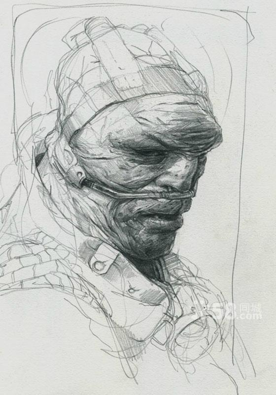 建筑 手绘 马克笔 水彩 彩铅技巧教授 央美 高清图片