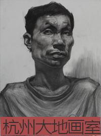 杭州大地画室素描、速写合集