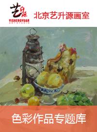 北京艺升源画室色彩作品专题库
